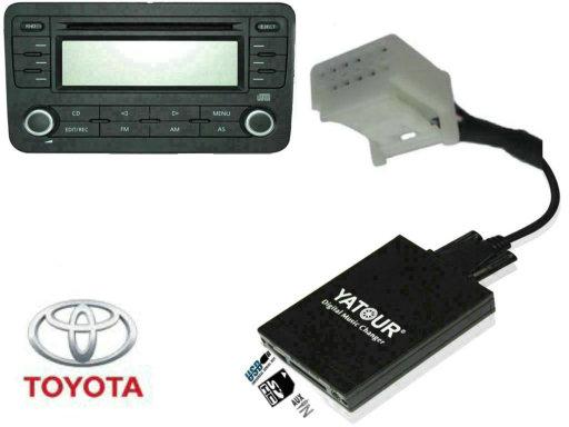 usb mp3 адаптер для toyota